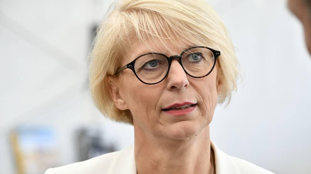 Moderaternas ekonomisk-politiska talesperson Elisabeth Svantesson (M). Arkivbild.