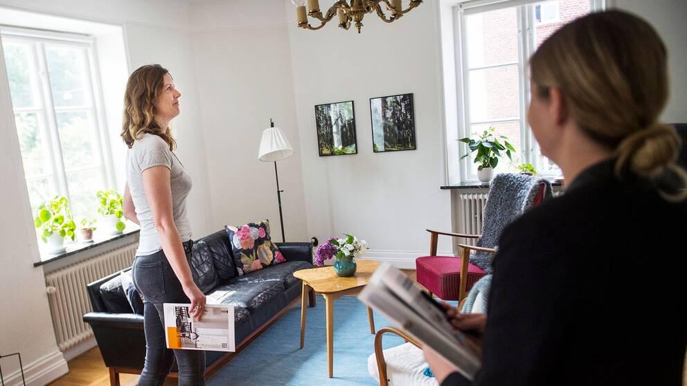 Lägenhetsvisning i Malmö