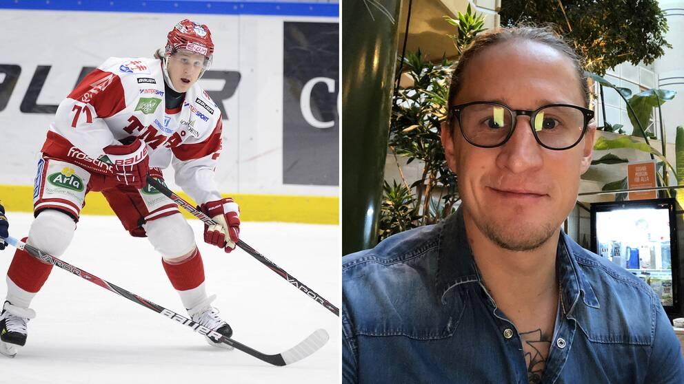 SHL-profilen Jonathan Hedström var en hyllad ishockeyspelare och en stjärna på isen, samtidigt kämpade han med ätstörningar under hela sin karriär.