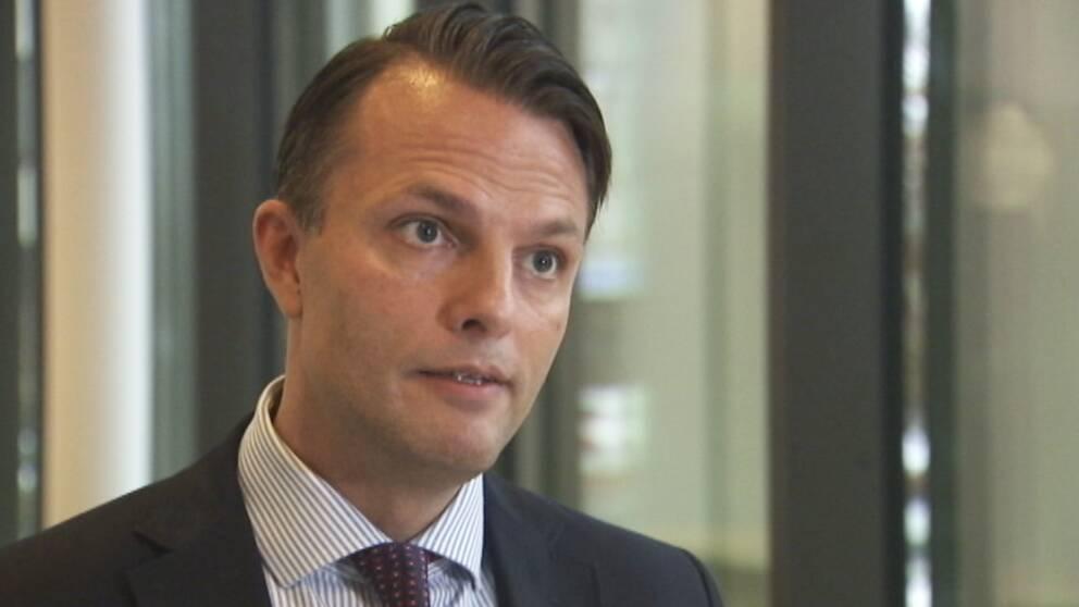 Erik Andersson (M), kommunalråd Täby.