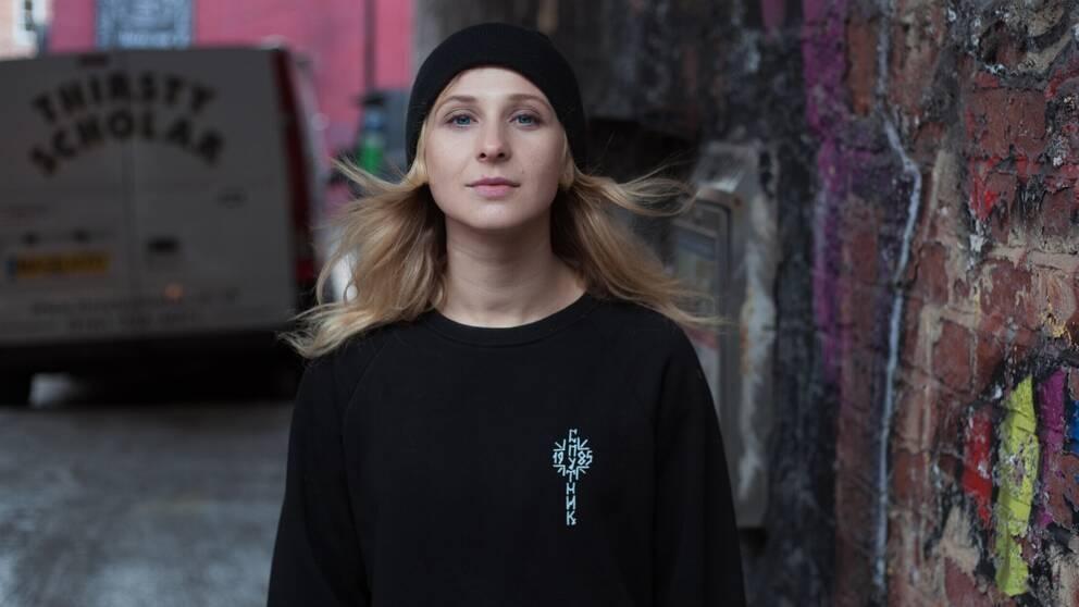 Kulturnyheterna träffar Pussy Riot-medlemmen Maria Aljochina, aktuell med biografin Riot days