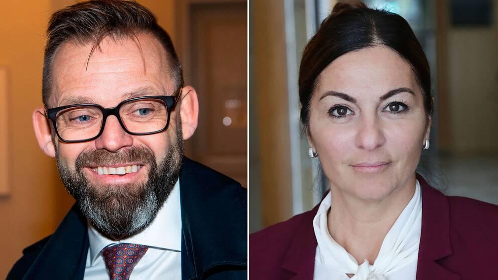Björn Hurtig och Elisabeth Massi Fritz företräder de två parterna i rättegången mot Kulturprofilen.