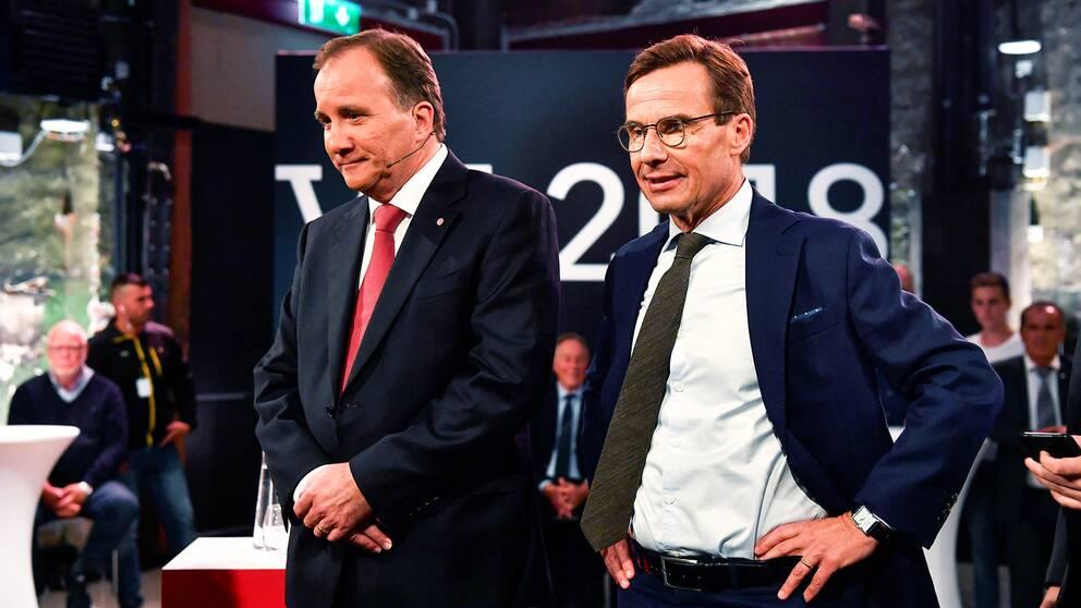Stefan Löfven (S) är den enda realistiska statsministerkandidaten om M-ledaren Ulf Kristersson misslyckas med att bilda regering