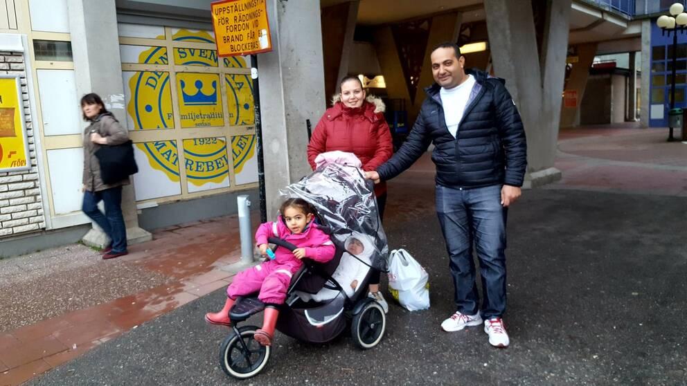 familj Ronna Hani Munir Martina Nabil barnfamilj