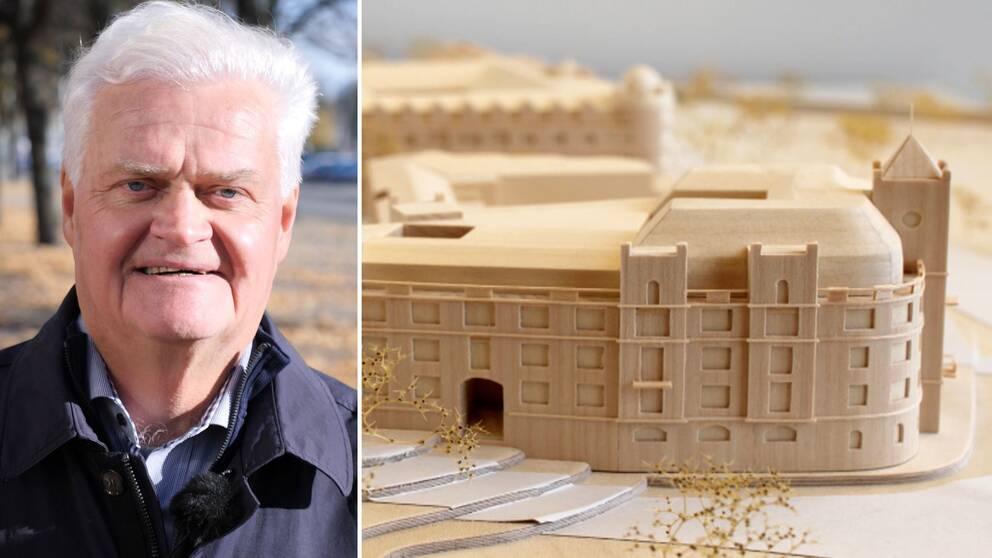 """IT-företagaren Björn Sundeby kämpade i flera år för att få bygga ett hus i """"Strandvägen-stil"""" i Växjö"""