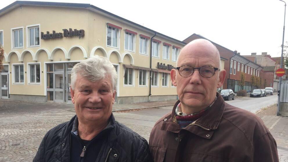 Nya LT-ägarna: Mats Olofsson (tv) och Thomas Borggren (th)