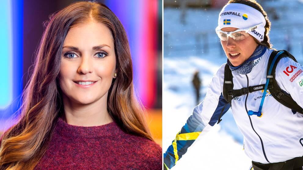Johanna Ojala och Charlotte Kalla.