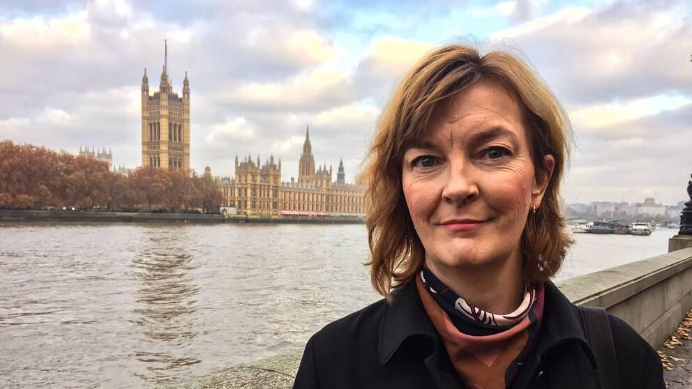 Anna-Maja Persson, SVT:s reporter i London
