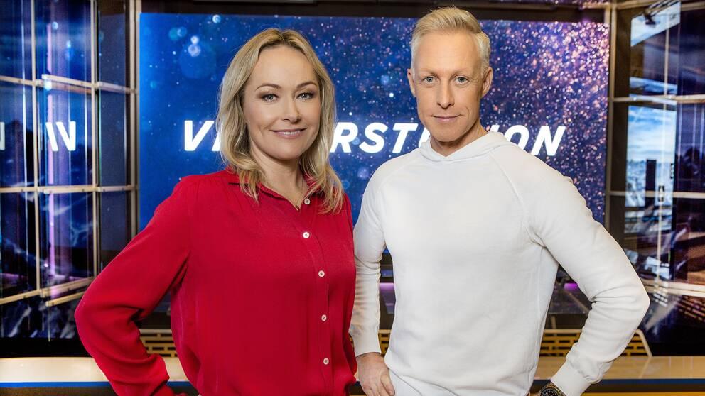 André Pops och Yvette Hermundstad.