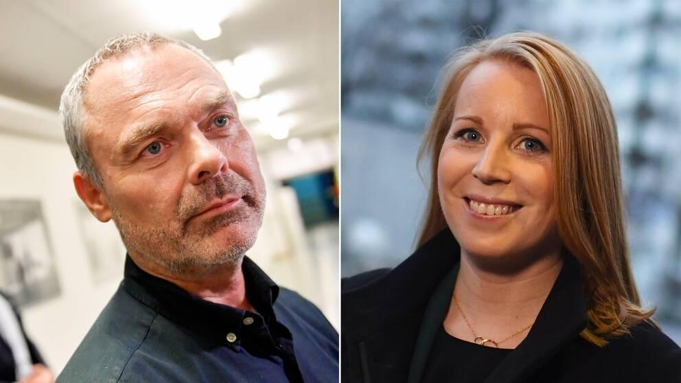 Jan Björklund och Annie Lööf.
