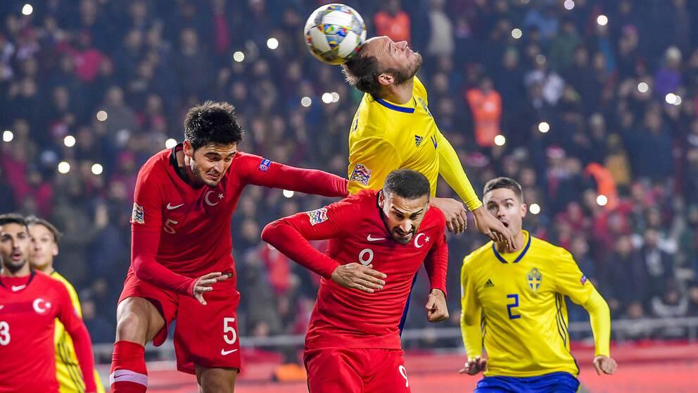 Så var Turkiet-Sverige – minut för minut  c9286c629130c