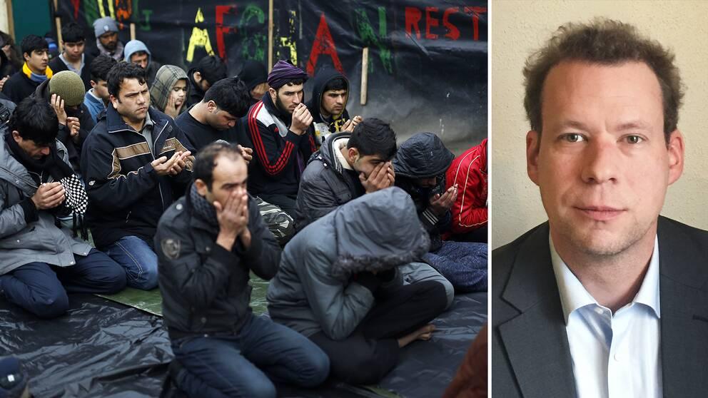 Bernd Parusel, forskare vid Europeiska migrationsnätverket, konstaterar att bedömningen vad gäller Afghanistan som land uppenbarligen skiljer sig åt mellan olika EU-länder
