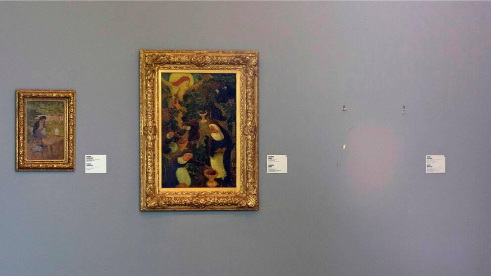 Picassos Harlekins huvud stals från ett nederländskt museum 2012.