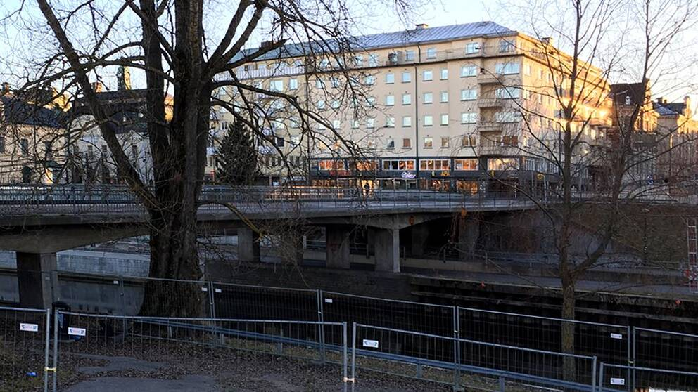 Storbron från ungefär samma plats i dag.
