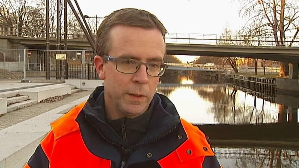 Stefan Näslund, sektionschef för gatuavdelningen vid Sundsvalls kommun.