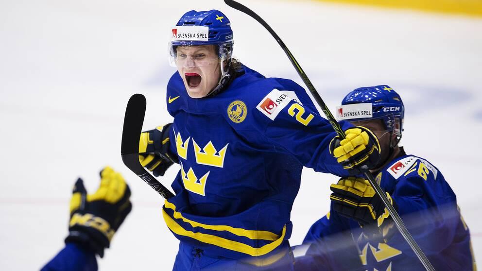 Sveriges juniorer till semifinal