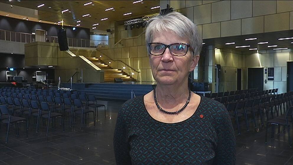 Kristina Zakrisson (S), kommunalråd Kiruna