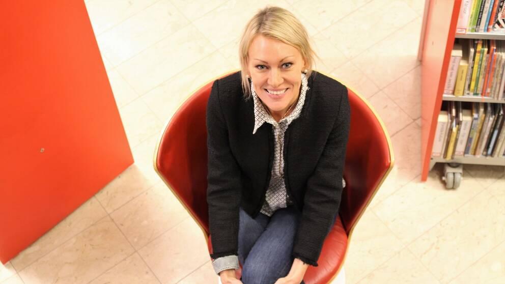 Frida Nilsson, tillträdande kommundirektör i Nykvarn.