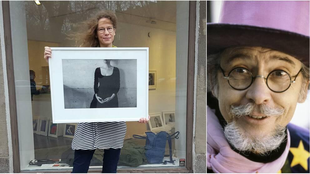 Emma Arenhill ställer tillsammans med pappa Åke ut fotokonst signerad på Galleri Final i Malmö.