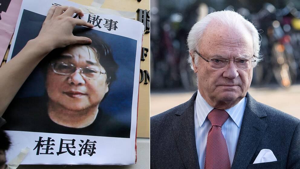 Författaren Gui Minhai försvann hösten 2015 och dök 2016 upp i kinesiskt förvar