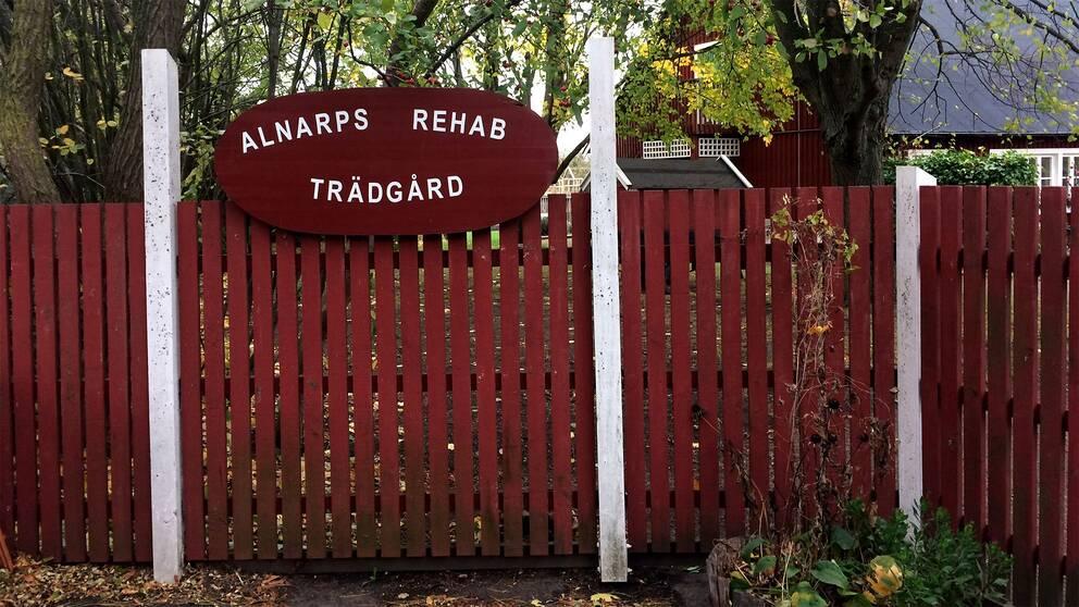 Rehab-trädgården vid Lantbruksuniversitetet i Alnarp