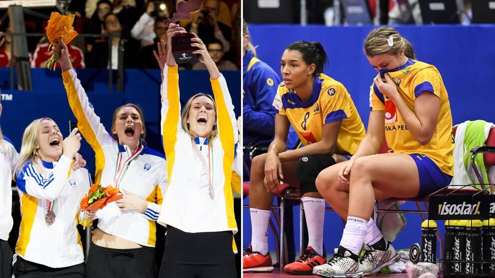 Sverige tog EM-brons 2014 men två år senare blev det bara en åttondeplats i hemma-EM.