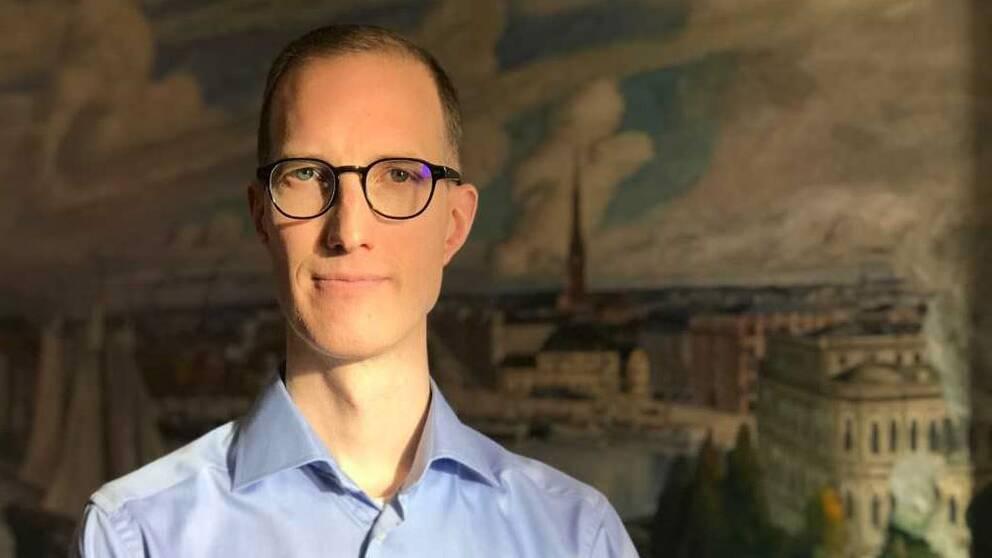 Liberalernas socialborgarråd Jan Jönsson.