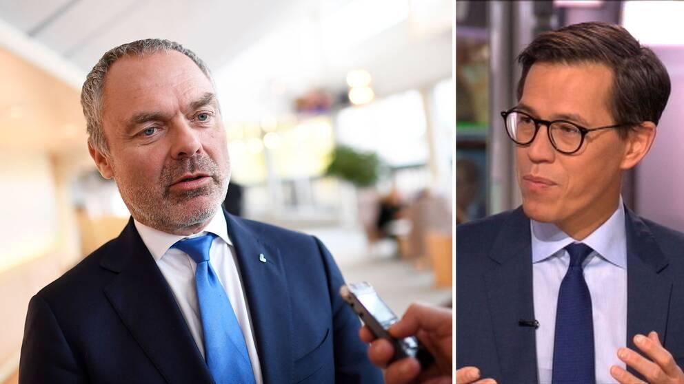 För Jan Björklunds del handlar frågan om att släppa fram S om partiledarposten, säger SVT:s politikreporter Love Benigh.