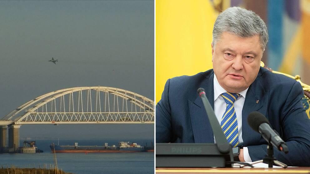 Ukraina inför undantagstillstånd