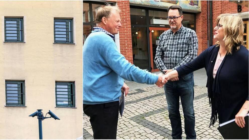 Föreningen Fängelsefritt Svedala lämnare tidigare i år in namnlistor till kommunpolitikerna.
