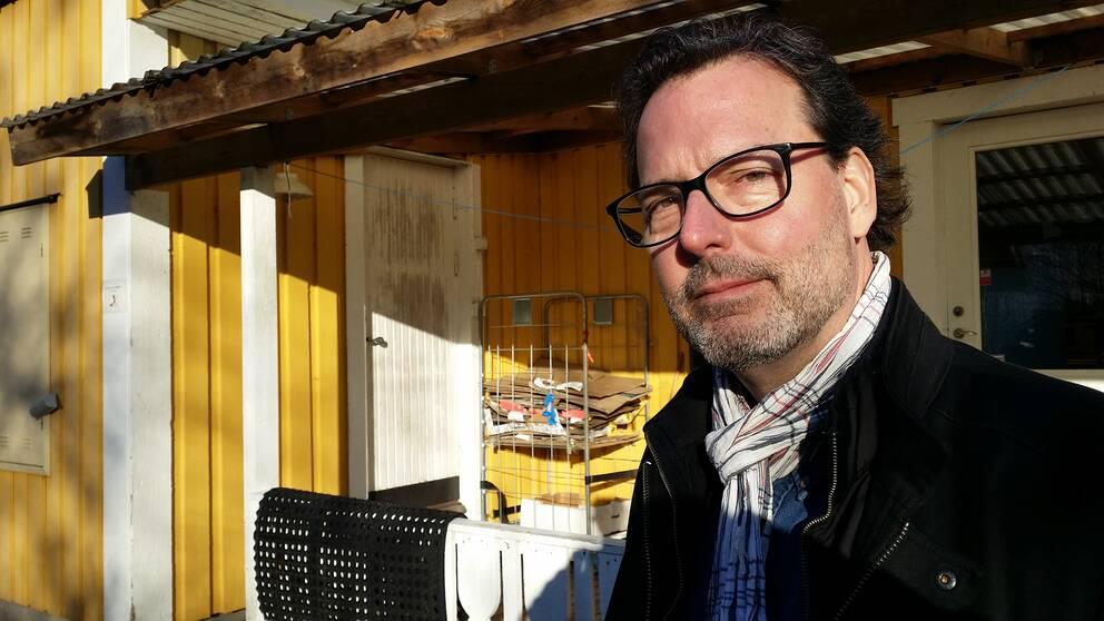 Richard Mortenlind, utbildningschef på Laholms kommun.