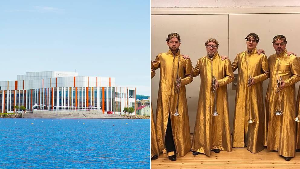 Spira kulturhus och trumpetare vid kungliga operan som stöttar den avskedade musikern.