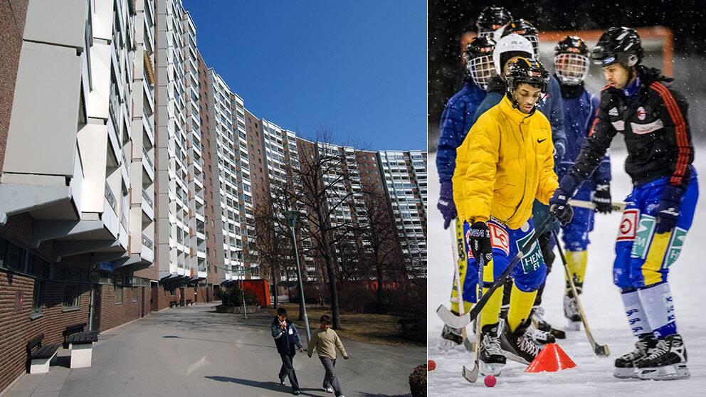 Täby har tagit emot 3 flyktingar per 1000 invånare samtidigt som Borlänges siffra är 51.