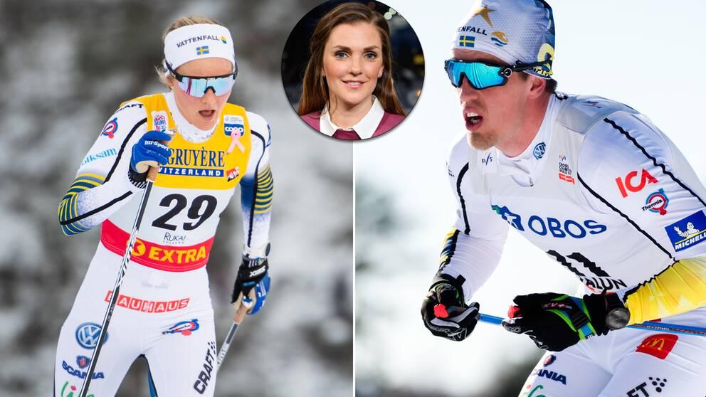 Stina Nilsson, Johanna Ojala, Calle Halfvarsson.