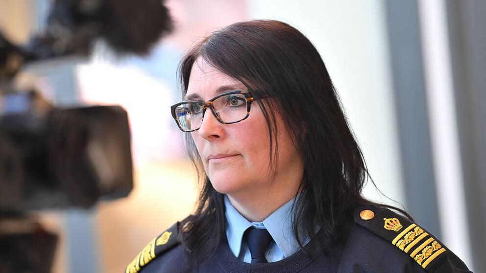 Polismästare Petra Stenkula.