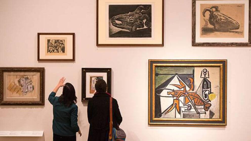 Under 40-talet beslagtog nazisterna tusentals målningar, bland annat av Pablo Picasso.