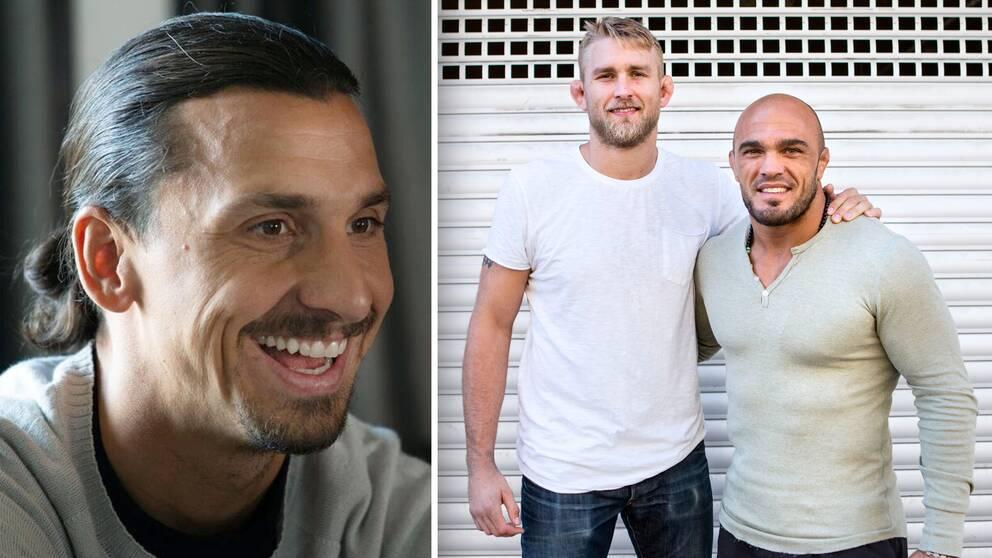 Zlatan Ibrahimovic hejar på UFC-svenskarna Alexander Gustafsson och Ilir Latifi.