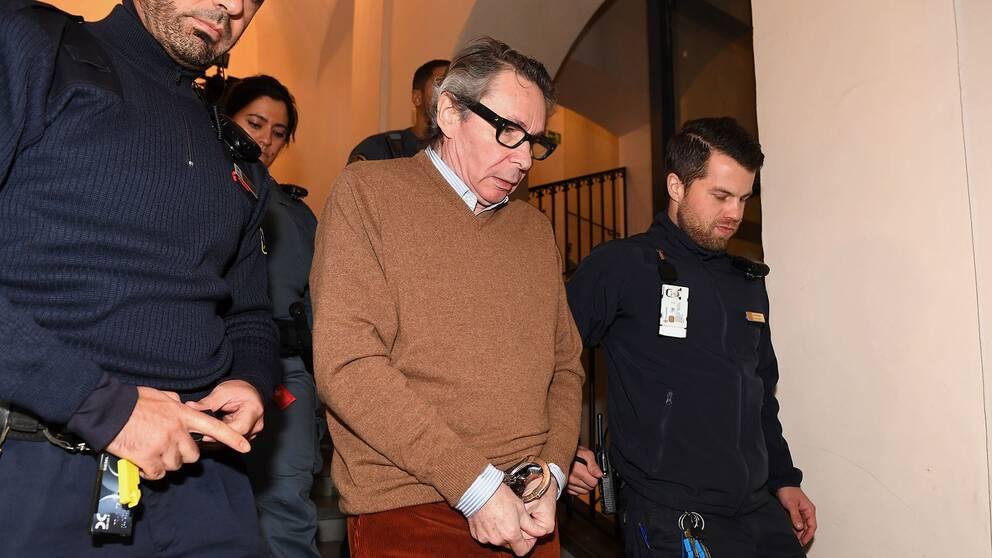 Kulturprofilen Jean-Claude Arnault döms för två fall av våldtäkt.