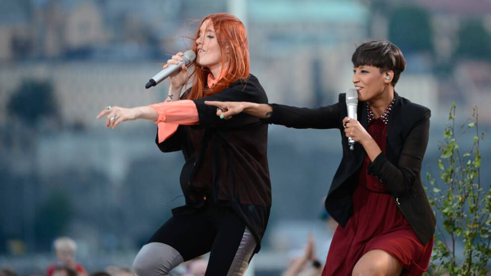Icona Pop. Foto: Pontus Lundahl/Scanpix