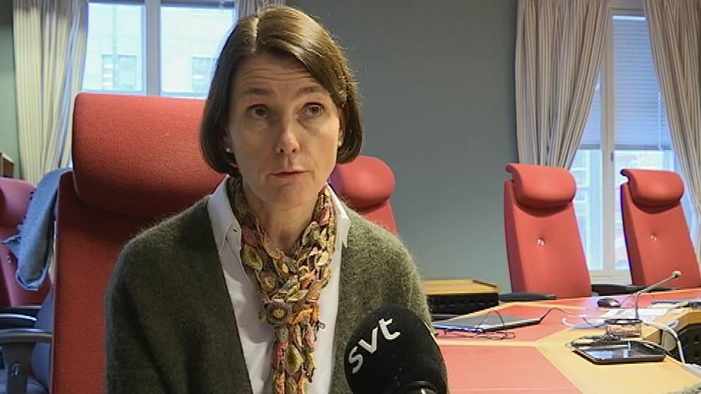 Hovrättsrådet Anna-Karin Karlbom vid Hovrätten för Västra Sverige