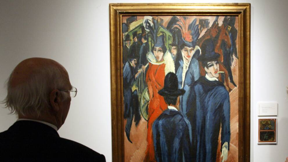 Över 1400 konstverk fanns i Gurlitts samling.