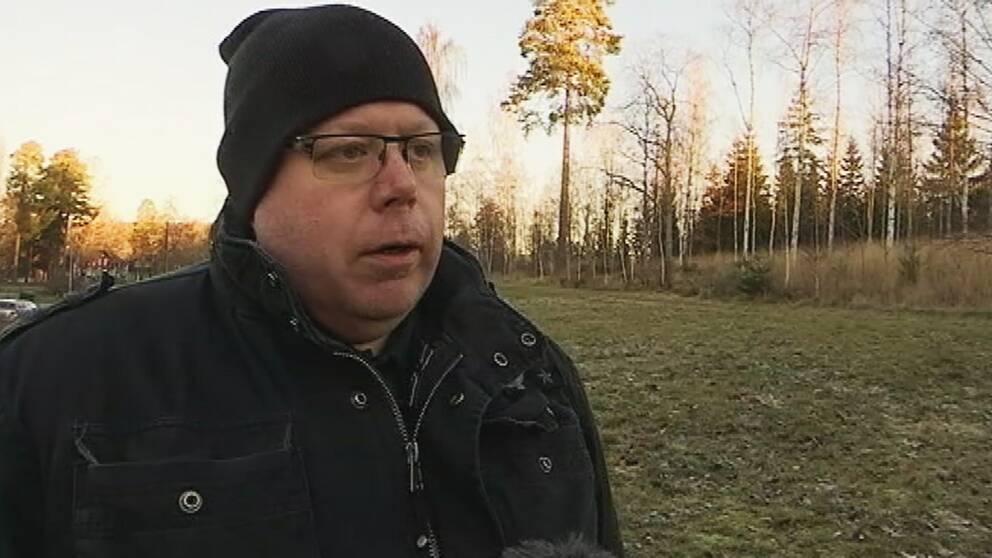 Staffan Korp, klubbordförande för If Metall i Björneborg
