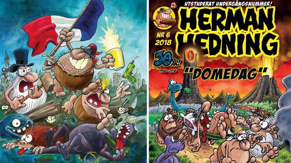 Serietidningen Herman Hedning läggs ner