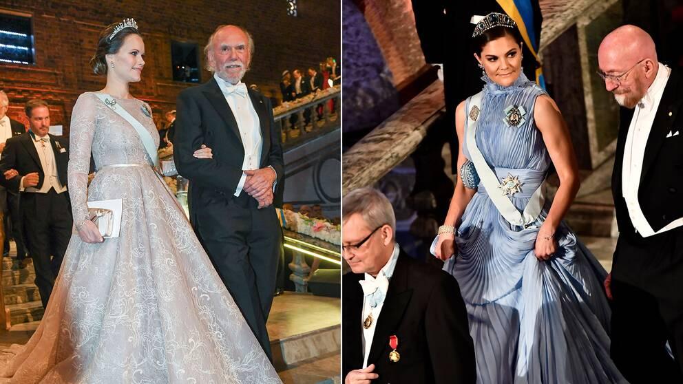 Prinsessan Sofia och kronprinsessan Victoria