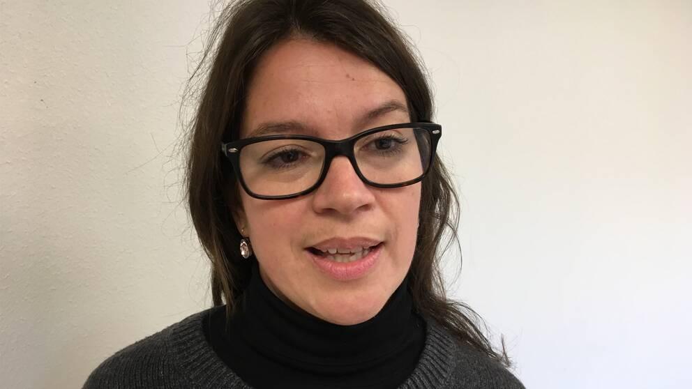 Sara Mattsson, rektor Wendela Hellmanskolan i Härnösand.