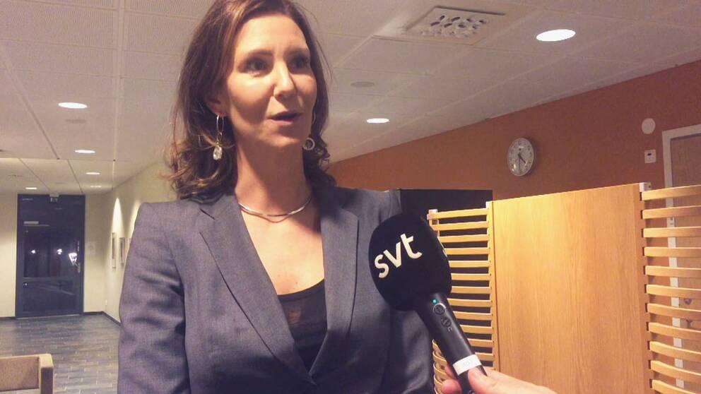 Emelie Källfelt, kammaråklagare vid internationella åklagarkammaren.