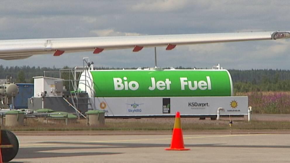 Biobransle for kommunens fordon