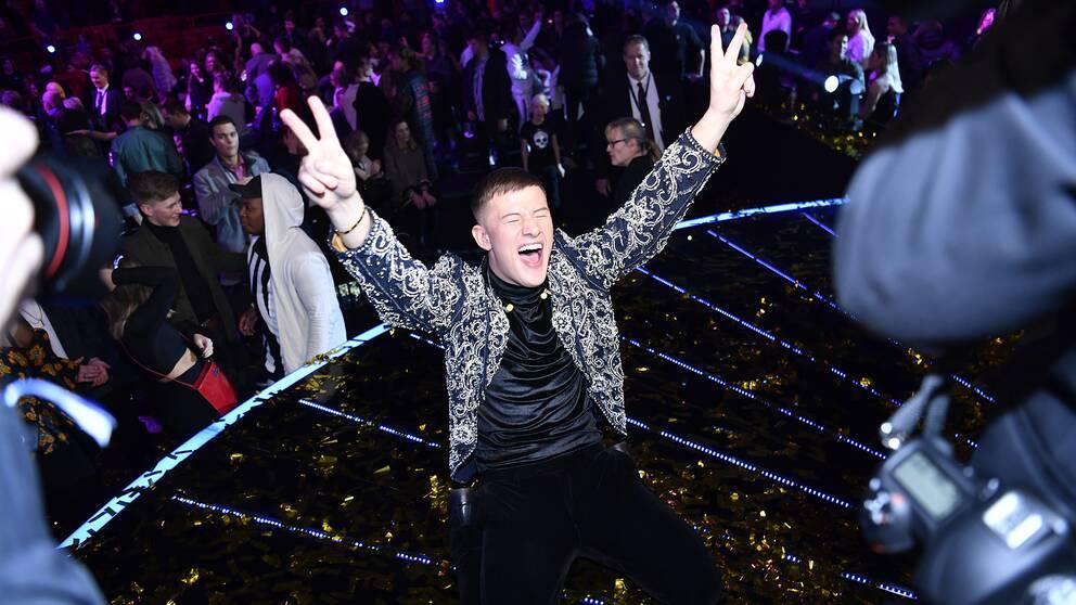 Sebastian Walldén vinner Idol 2018.