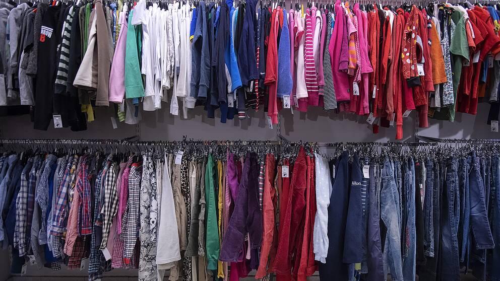 Second hand-kläder
