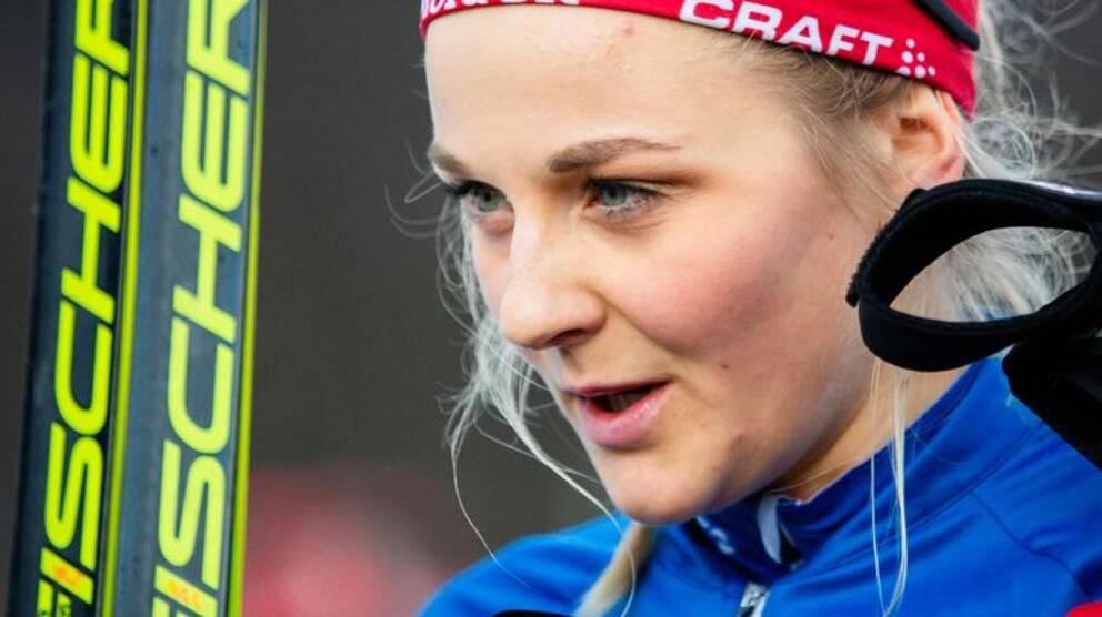 Stina Nilsson, längdlandslaget.